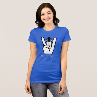 MaDDy PaRiAH Women's TShirt with Rock Hand and DJ