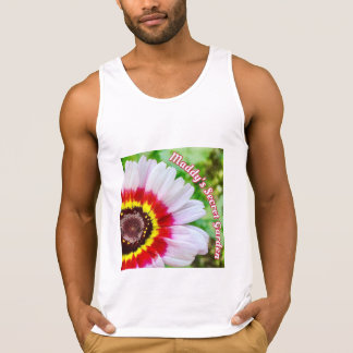 Maddy's Secret Garden Painted Daisy (Men's) Singlet