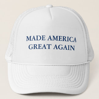 Made America Great Again - Trucker Hat