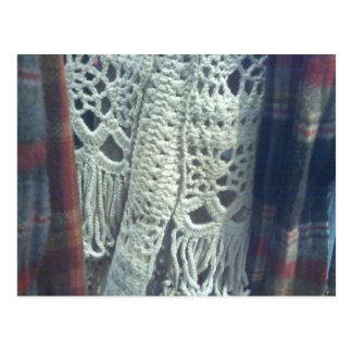 Made By Hand...I Love Crochet Postcard