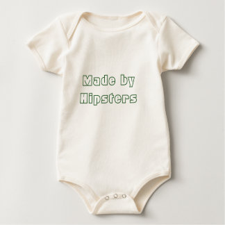 Made by Hipsters Organic One-Piece Baby Bodysuit