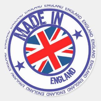 made england classic round sticker