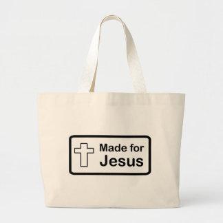 Made For Jesus Jumbo Tote Bag