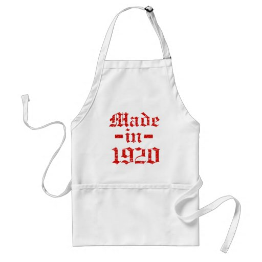 Made in 1920 designs aprons
