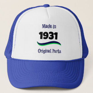 Made in 1931, Original Parts Trucker Hat