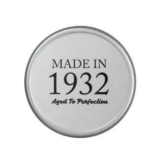 Made In 1932 Speaker