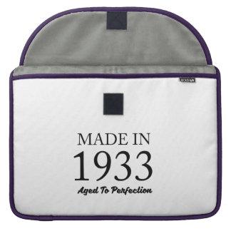 Made In 1933 MacBook Pro Sleeve
