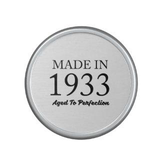 Made In 1933 Speaker