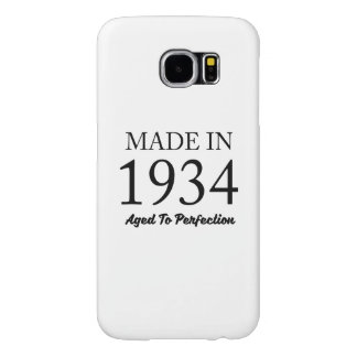 Made In 1934 Samsung Galaxy S6 Cases