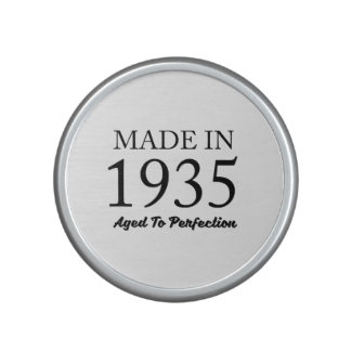 Made In 1935 Speaker