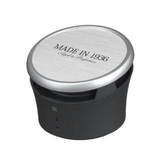 Made in 1936 bluetooth speaker