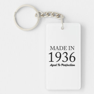 Made In 1936 Key Ring