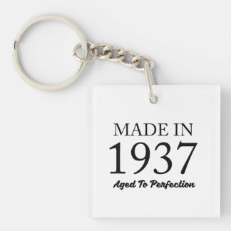 Made In 1937 Key Ring