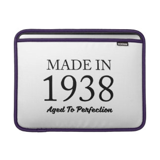 Made In 1938 Sleeve For MacBook Air