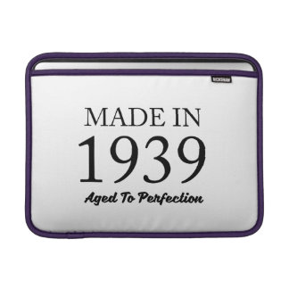 Made In 1939 Sleeves For MacBook Air