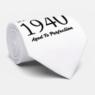 Made In 1940 Tie