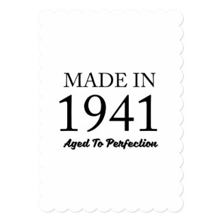 Made In 1941 Card