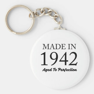 Made In 1942 Key Ring