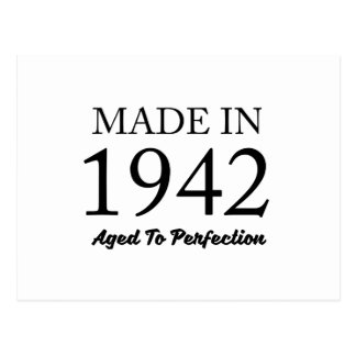 Made In 1942 Postcard