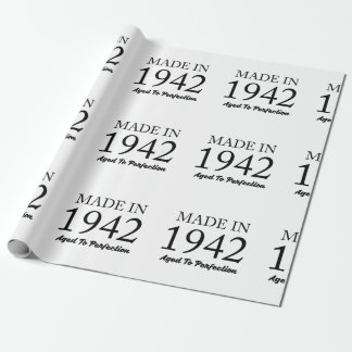 Made In 1942 Wrapping Paper