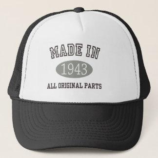 Made In 1943 All Original Parts Trucker Hat