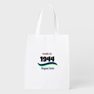 Made in 1944, Original Parts Reusable Grocery Bag