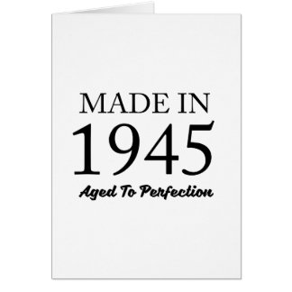 Made In 1945 Card