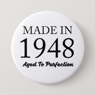 Made In 1948 7.5 Cm Round Badge