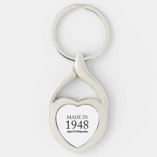 Made In 1948 Key Ring