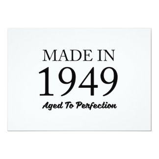 Made in 1949 card