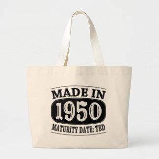Made in 1950 - Maturity Date TDB Jumbo Tote Bag
