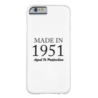 Made In 1951 Barely There iPhone 6 Case
