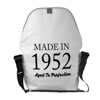 Made In 1952 Messenger Bags