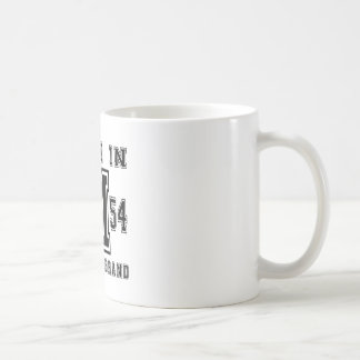 MADE IN 1954 ORIGINAL BRAND BIRTHDAY DESIGNS COFFEE MUG