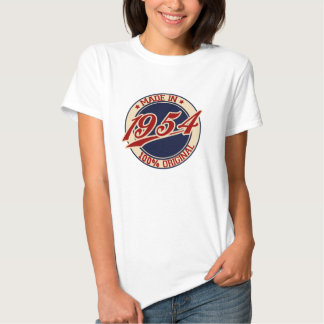 Made In 1954 T Shirts
