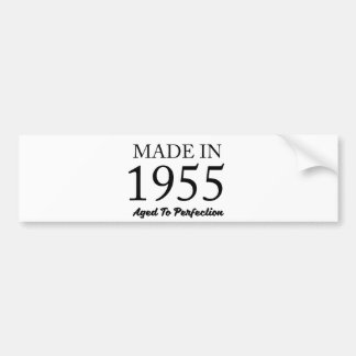 Made In 1955 Bumper Sticker