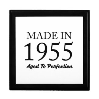 Made In 1955 Large Square Gift Box