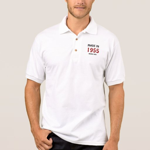 Made in 1955, Original Parts. Polo Shirt