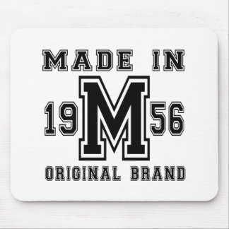 MADE IN 1956 ORIGINAL BRAND BIRTHDAY DESIGNS MOUSE PAD
