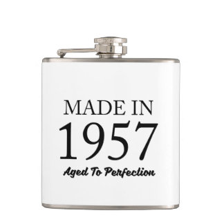 Made In 1957 Flasks