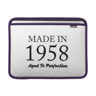 Made In 1958 Sleeve For MacBook Air