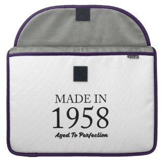 Made In 1958 Sleeves For MacBooks