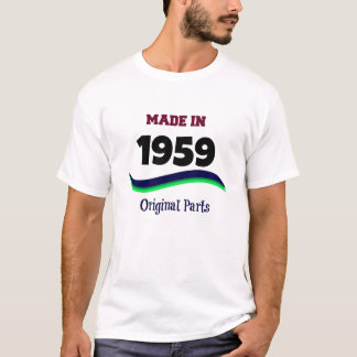 Made in 1959, Original Parts T-Shirt