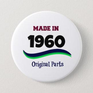 Made in 1960, Original Parts 7.5 Cm Round Badge