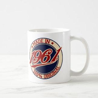 Made In 1961 Coffee Mug