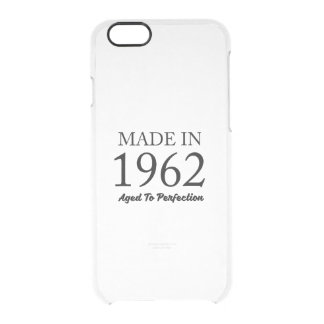 Made In 1962 Clear iPhone 6/6S Case