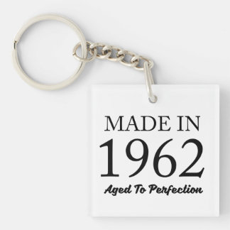 Made In 1962 Key Ring