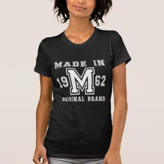 MADE IN 1962 ORIGINAL BRAND BIRTHDAY DESIGNS T-Shirt