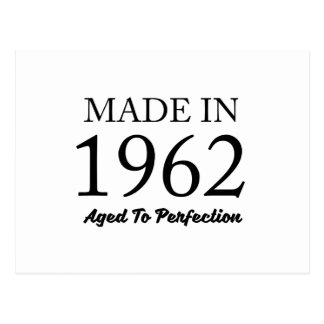 Made In 1962 Postcard