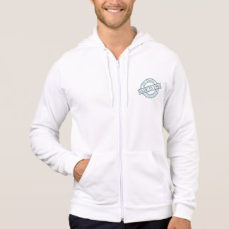 Made in 1963 Circular Rubber Stamp Style Logo Hoodie